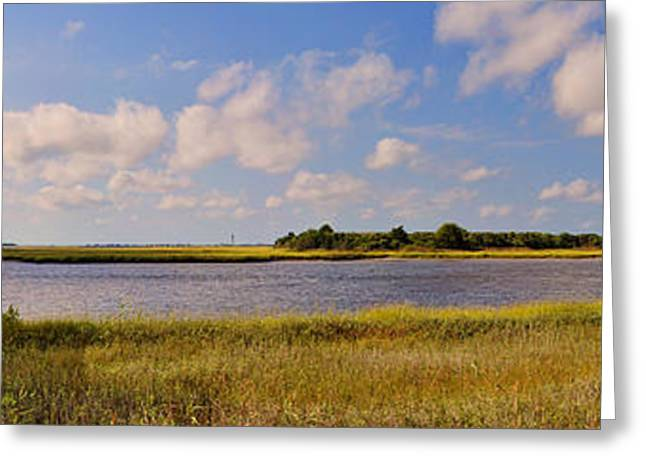 Salt Marsh Morning - Southport Greeting Card