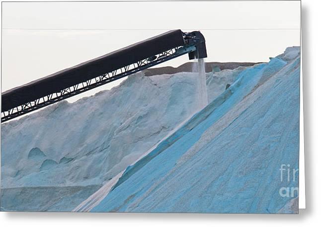 Salt Mine Greeting Card by Jim West