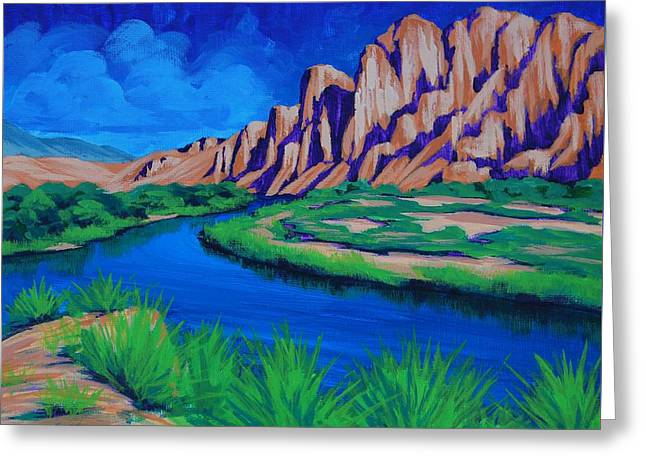 Salt River Greeting Card