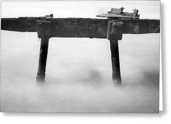 Greeting Card featuring the photograph Salt Water by Amarildo Correa