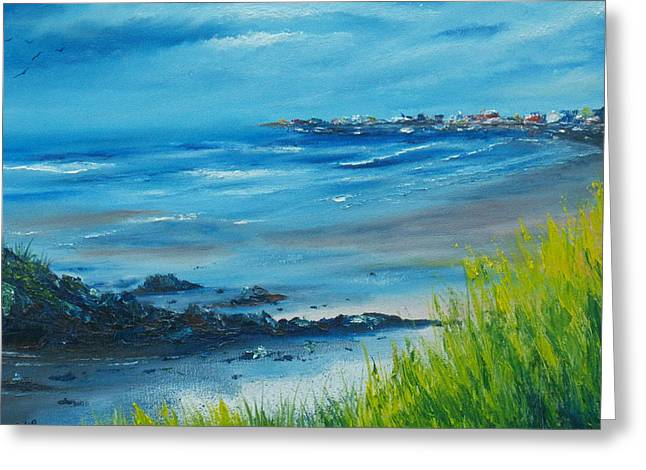 Salthill Galway Greeting Card