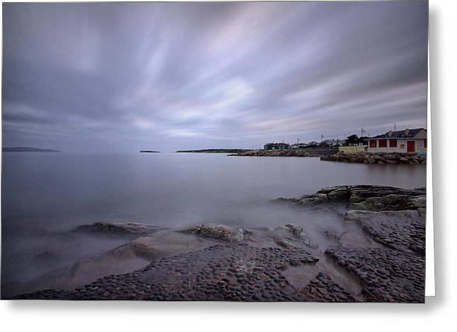 Salthill Promenade Greeting Card