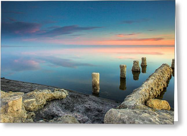 Salton Sea Reflections Greeting Card
