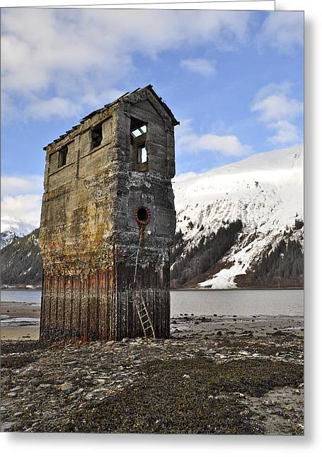 Saltwater Pump House Greeting Card