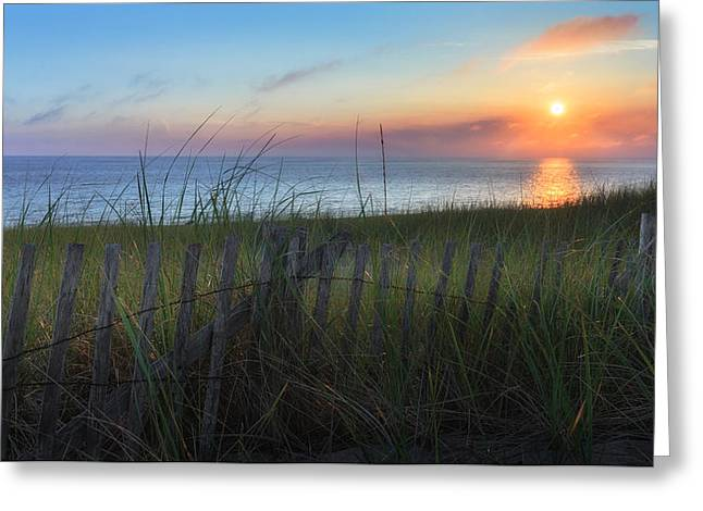 Salty Air Greeting Card by Bill Wakeley
