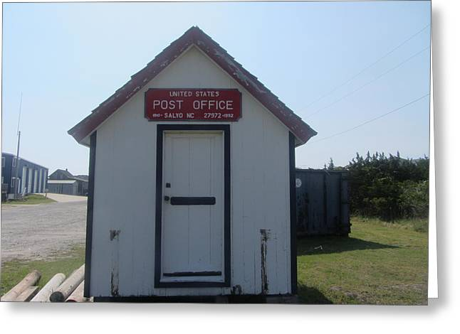 Salvo Post Office Greeting Card by Cathy Lindsey