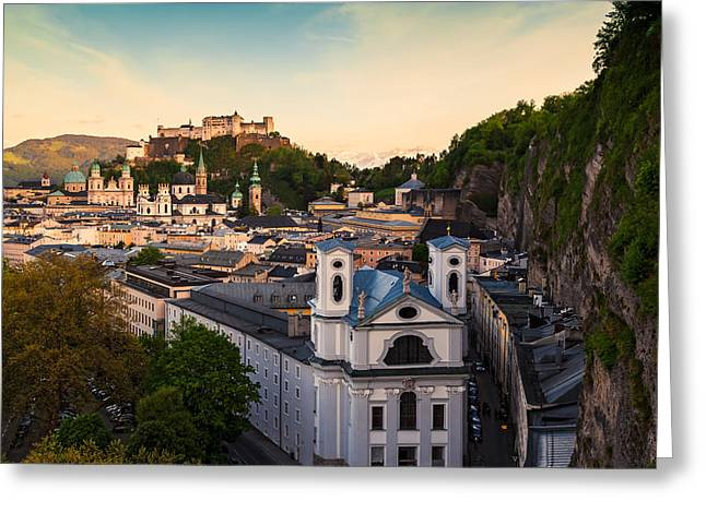 Salzburg 06 Greeting Card