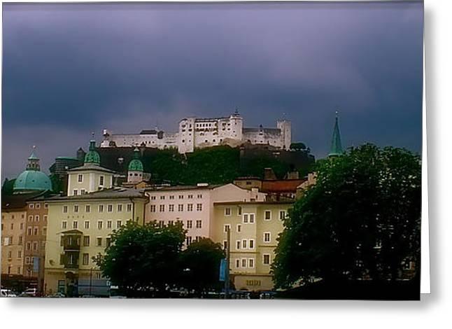 Salzburg Schloss Greeting Card