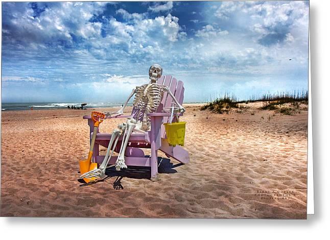 Sam Discovers Bald Head Island Greeting Card by Betsy Knapp
