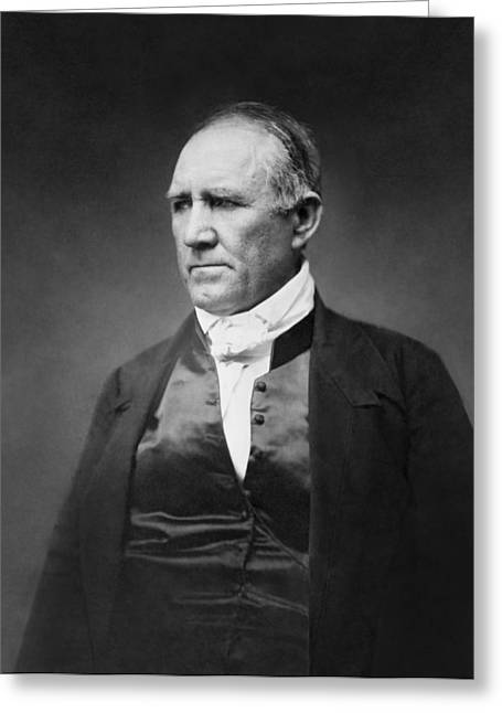 Sam Houston Greeting Card by Matthew Brady