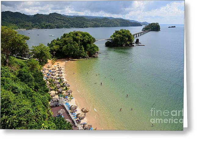Samana In Dominican Republic Greeting Card