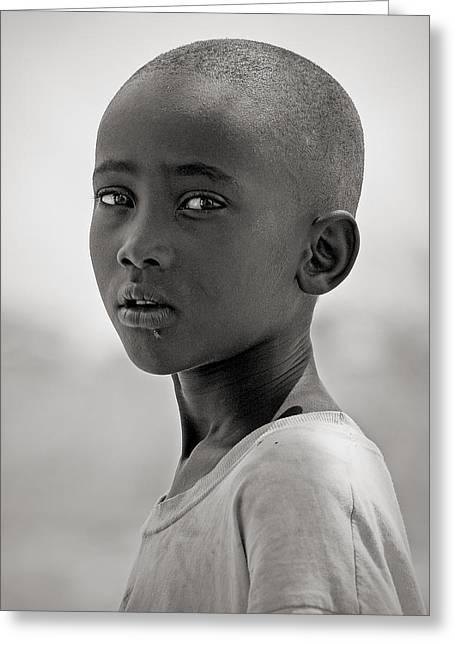 Greeting Card featuring the photograph Samburu #1 by Antonio Jorge Nunes