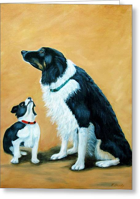 Sammy And Breagh Greeting Card