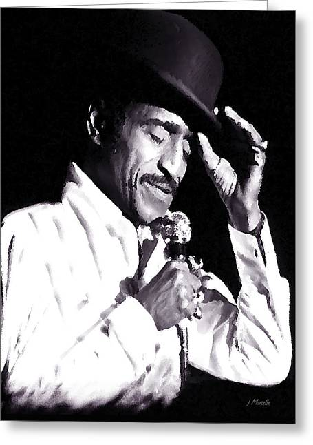 Sammy Davis Jr. Performing Mr. Bojangles Greeting Card