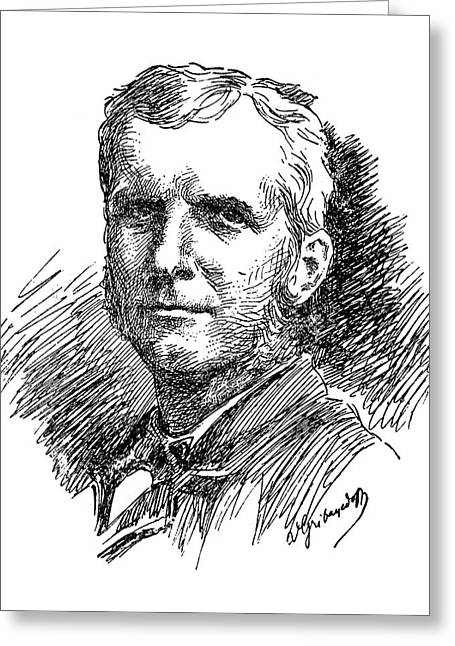 Samuel Chapman Armstrong (1839-1893) Greeting Card by Granger