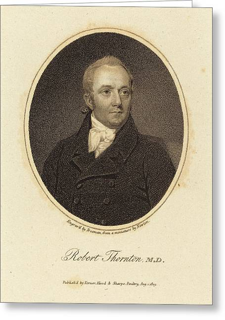 Samuel Freeman After William John Newton British Greeting Card by Quint Lox