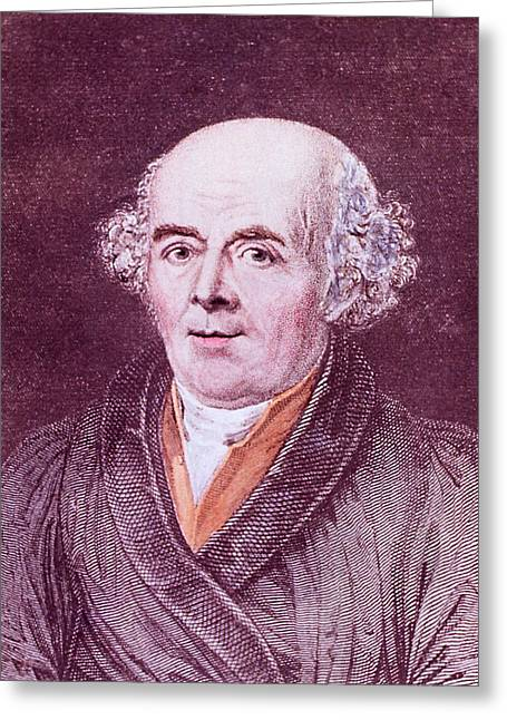 Samuel Hahnemann Greeting Card by National Library Of Medicine