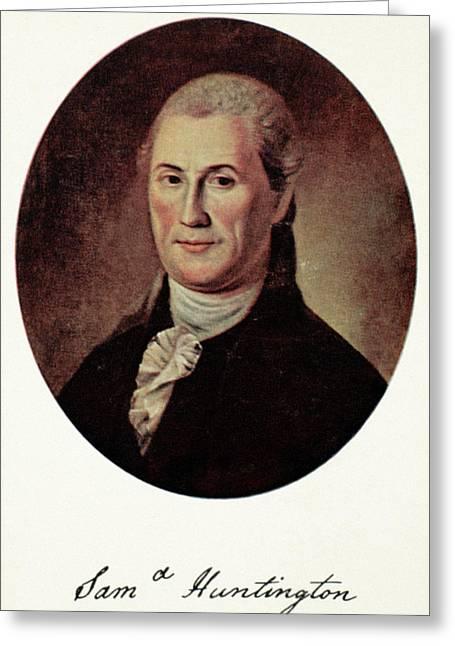 Samuel Huntington (1731-1796) Greeting Card by Granger
