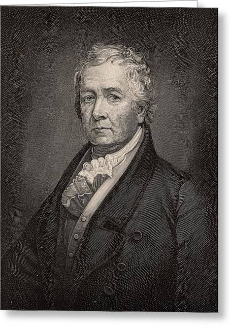 Samuel Latham Mitchill Greeting Card by Universal History Archive/uig