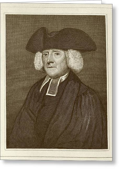 Samuel Pegge Greeting Card by Middle Temple Library