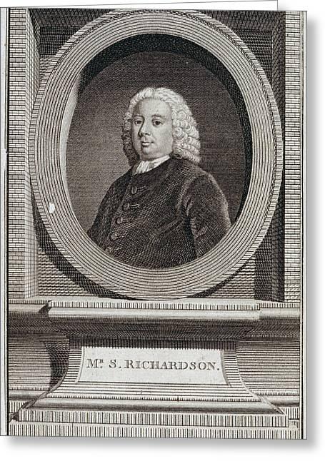 Samuel Richardson Greeting Card by British Library