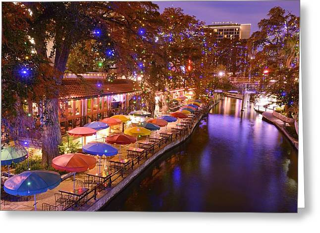 San Antonio Greeting Card by Christian Heeb