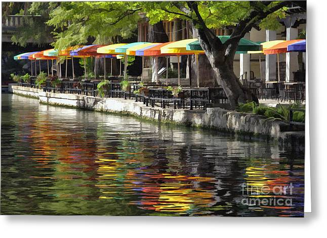 San Antonio River Walk Greeting Card