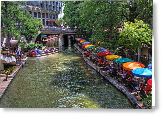 San Antonio Riverwalk Greeting Card
