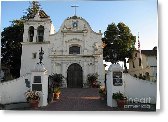 Greeting Card featuring the photograph San Carlos Cathedral by James B Toy
