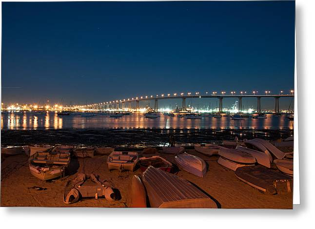 San Diego Bridge  Greeting Card