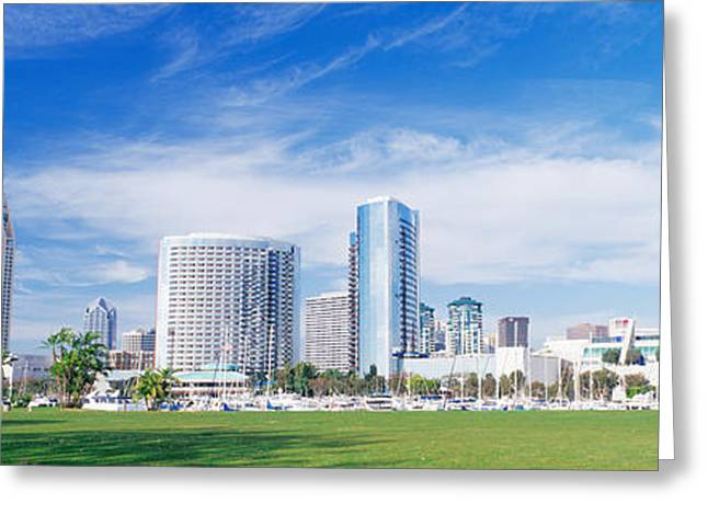 San Diego, California, Usa Greeting Card by Panoramic Images