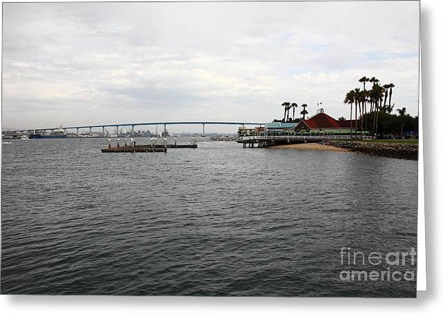 San Diego Coronado Bridge 5d24341 Greeting Card