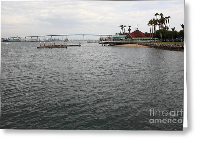 San Diego Coronado Bridge 5d24343 Greeting Card