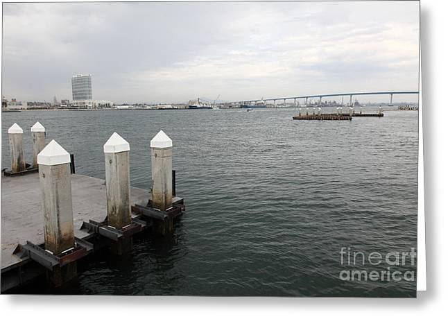 San Diego Coronado Bridge 5d24346 Greeting Card