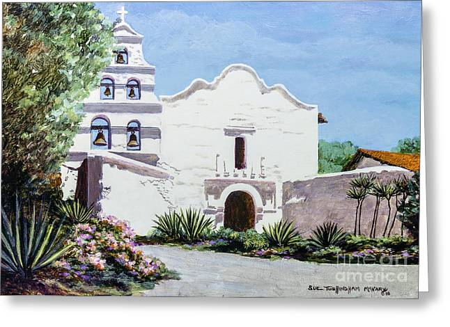 San Diego Mission De Alcala Greeting Card