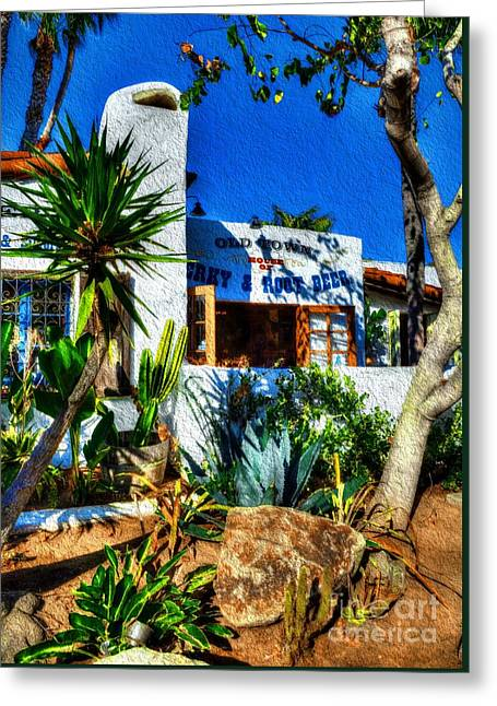 San Diego Old Town Colors 3 Greeting Card