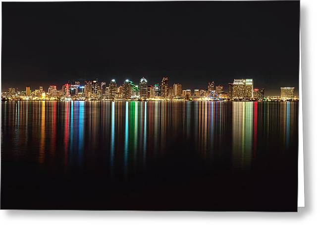 San Diego Reflections Greeting Card