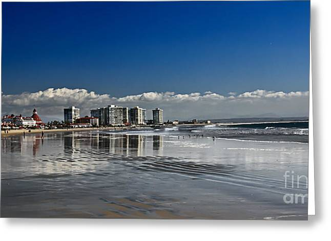San Diego Greeting Card by Robert Bales