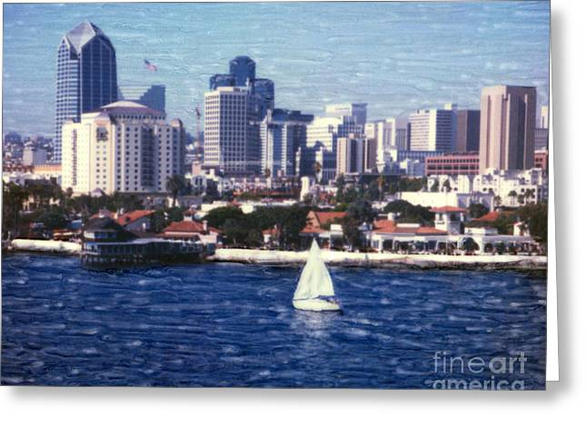 San Diego Seaport Village Greeting Card