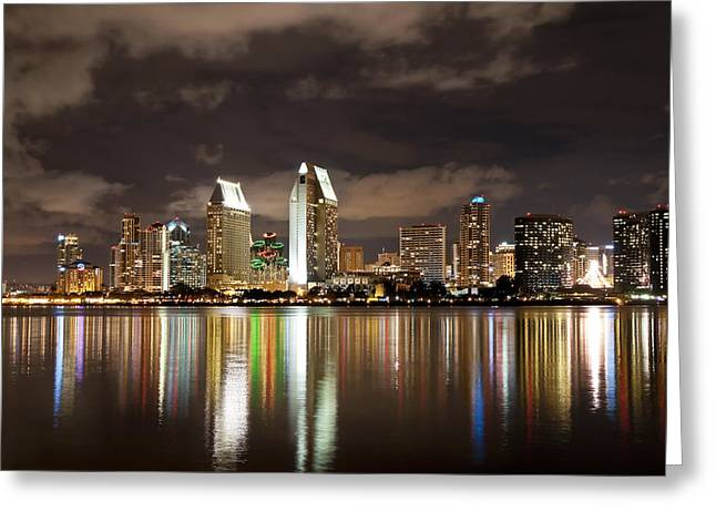 San Diego Skyline 1 Greeting Card