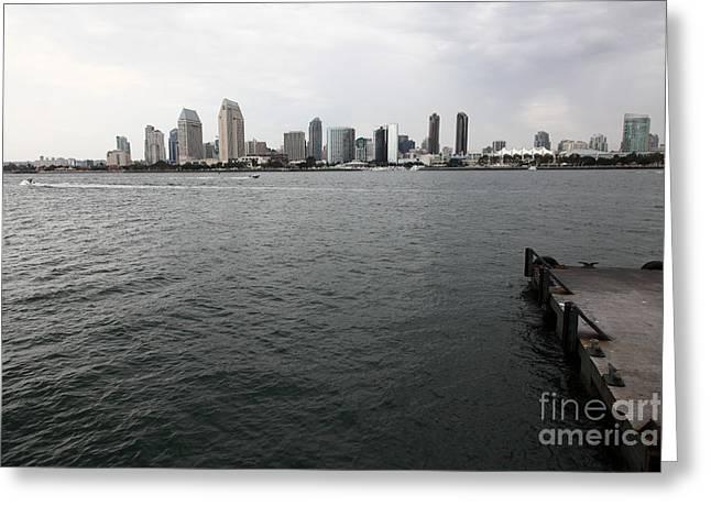 San Diego Skyline 5d24337 Greeting Card