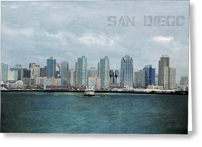San Diego  Greeting Card by Sofia Walker
