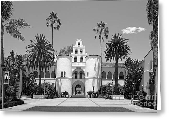San Diego State University - Hepner Hall Greeting Card by University Icons