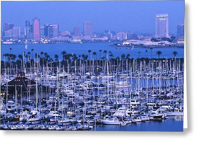 San Diego Twilight Greeting Card