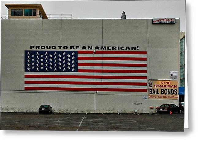 San Diego Wall Greeting Card by Steven Richman