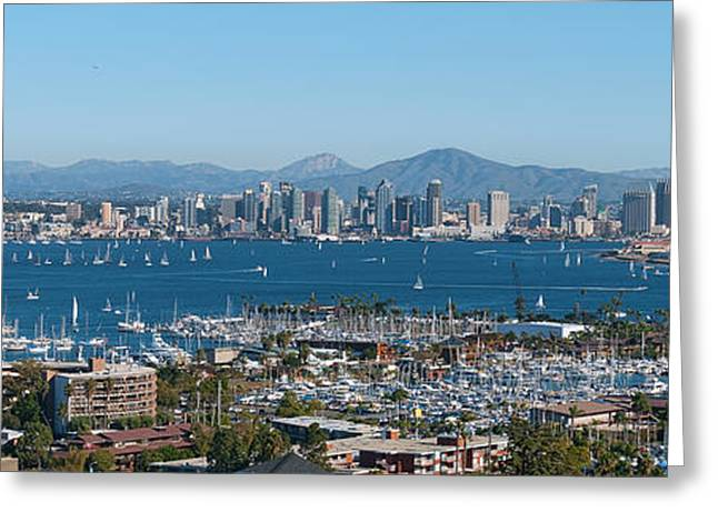 San Diego's Big Bay Greeting Card