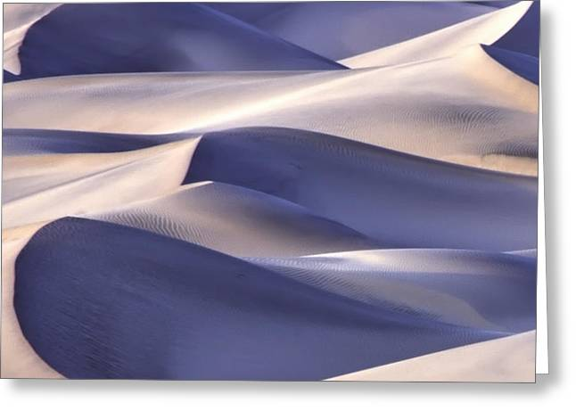 San Dunes Abstract Greeting Card