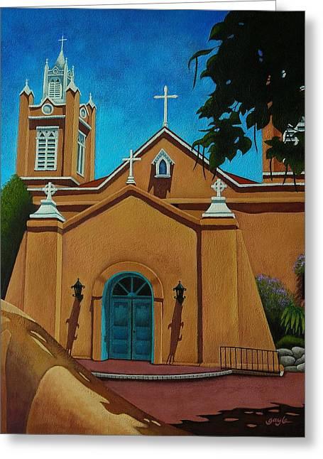 San Felipe De Neri Greeting Card