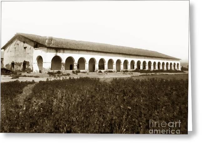 San Fernando Mission Circa 1900 Greeting Card
