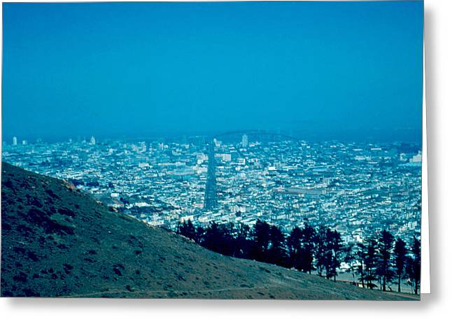 San Francisco 1955 Greeting Card by Cumberland Warden